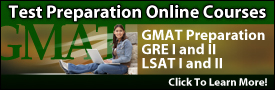 Test Preparation GMAT LSAT GRE