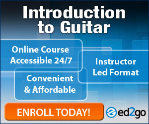 Take Introduction to Guitar at ed2go.com
